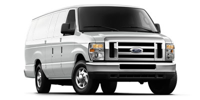 New, 2013 Ford Econoline Cargo Van Commercial, White (Oxford White), F116091