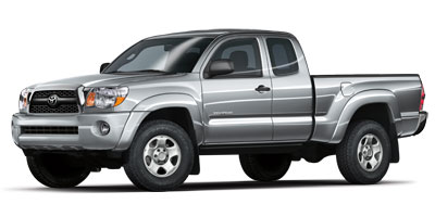 Used, 2011 Toyota Tacoma 2WD Access V6 AT PreRunner, White, K1772Z