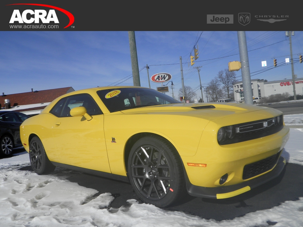 2016 Dodge Challenger 2dr Cpe R/T Plus, 181195, Photo 1