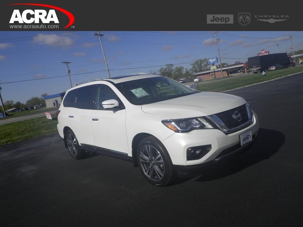 2017 Nissan Pathfinder 4x4 S, 21249, Photo 1