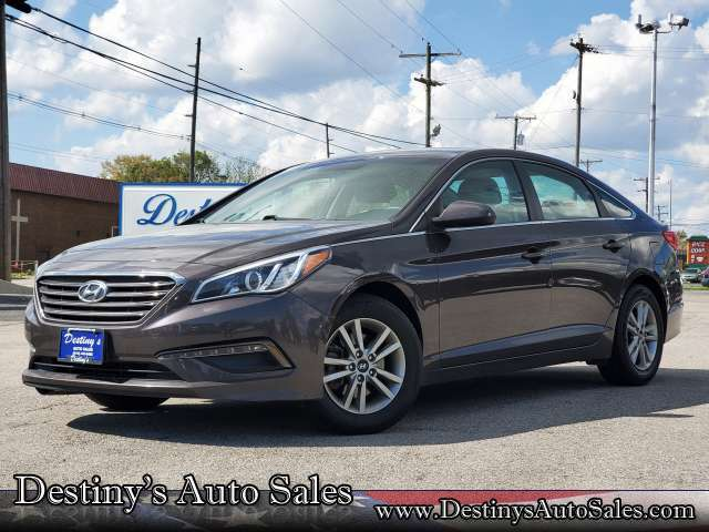 2017 Hyundai Sonata 2.4L, 508210, Photo 1
