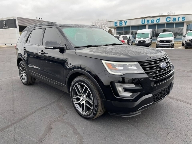 2017 Ford Explorer XLT 4WD, HGD97972, Photo 1