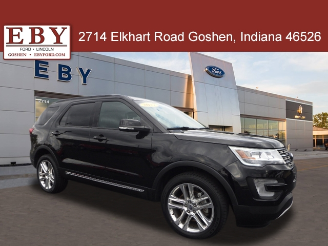 2017 Ford Explorer Limited 4WD, HGA57979, Photo 1
