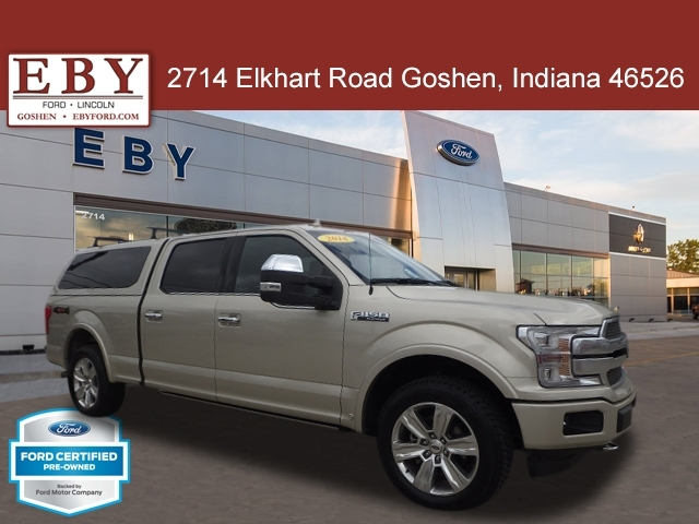 2018 Ford F-150 Platinum 4WD, JFA78461, Photo 1